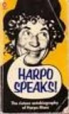 Harpo Speaks! by Harpo Marx
