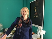 Author photo. Frances Gouda [credit: Bowdoin College]