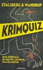 Krimquiz by Fredrik Wandrup