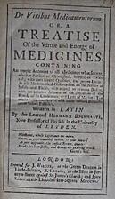 De Viribus Medicamentorum or, a TREATISE Of…