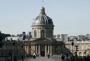 Author photo. Institut de France, Paris.  Photo by user Nitot / Wikimedia  Commons.