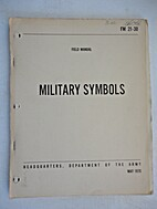 FM 21-30. Military Symbols Field Manual, May…