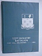 522nd Infantry Battalion, Fort Sill,…