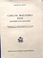 Carlos Malheiro Dias escritor…
