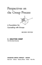 Perspectives on the group process; a…