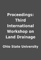 Proceedings: Third International Workshop on…