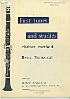 First tunes and studies by Basil Tschaikov