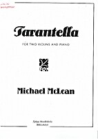 Tarantella for Two Violins and Piano by…