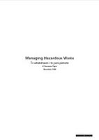 Managing hazardous waste : a discussion…
