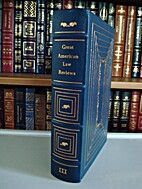 Great American Law Reviews by Robert C. ed.…