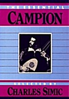 The Essential Campion by Thomas Campion