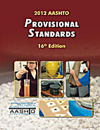 AASHTO Provisional Standards - 16th Edition…