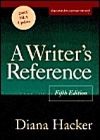 A Writer's Reference Fifth Edition by…
