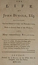 The life and opinions of John Buncle,…