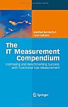The IT Measurement Compendium : Estimating…