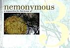 Nemonymous 3: A Megazanthus for Short…