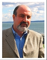 Author photo. Nassim Nicholas Taleb