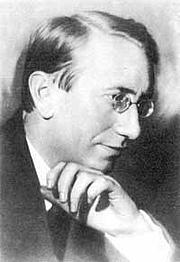 Author photo. Polish-Russian writer Sigizmund Krzhizhanovsky around 1910