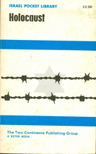 Israel Pocket Library: Holocaust by Jacob…