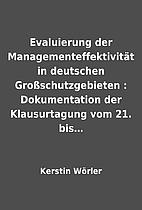 Evaluierung der Managementeffektivität in…