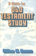 Guide for Old Testament Study by William W.…