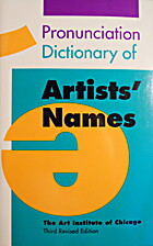 Pronunciation Dictionary of Artists' Names…