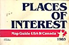 Places of Interest: Map Guide USA & Canada…