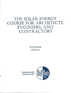 The Solar Energy Course for Architects,…