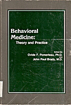 Behavioral medicine, theory and practice by…