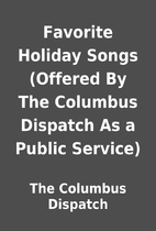 Favorite Holiday Songs (Offered By The…