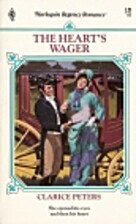Heart's Wager by Clarice Peters