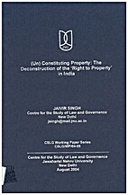 (Un) Constituting Property: The…