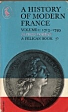 A History of Modern France Volume 1:…