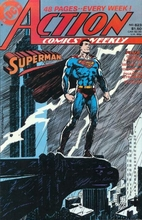 Action Comics # 623 by Roger Stern