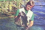 Author photo. from cover of The Fresh-water Fisherman's Bible
