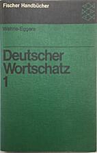 Wehrle-Eggers. Deutscher Wortschatz : Ein…