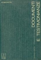 Documenti e testimonianze: antologia di…
