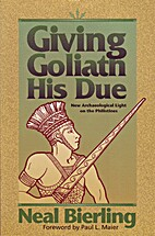 Giving Goliath His Due: New Archaeological…