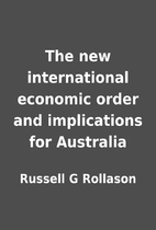 The new international economic order and…