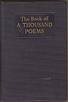 The Book of a thousand poems by Anthology