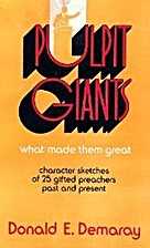 Pulpit giants; what made them great, by…