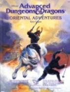 Oriental Adventures by David Zeb Cook