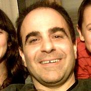 Author photo. Author and cartoonist Joe Chiappetta, 2010