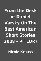 From The Desk Of Daniel Varsky In Best