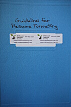 Guidelines for Resume Formatting