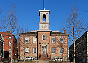 Author photo. The Old State House in Providence, home of the Rhode Island Historical Preservation Commission [credit: Wikimedia Commons user Marcbela]