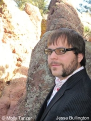 Author photo. Alex Marshall is a pseudonym for Jesse Bullington - Photo © Molly Tanzer