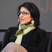 Author photo. Susan Abulhawa at the Oslo Book Festival by Wikipedia user <a href=&quot;http://en.wikipedia.org/User:Decltype&quot; rel=&quot;nofollow&quot; target=&quot;_top&quot;>Decltype</a>