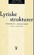Lyriske strukturer : innføring i…