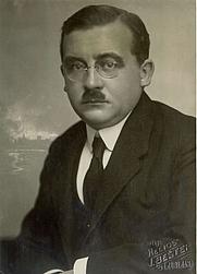 Author photo. Milan Vidmar (1885-1962)